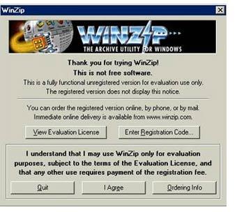 winzip evaluation